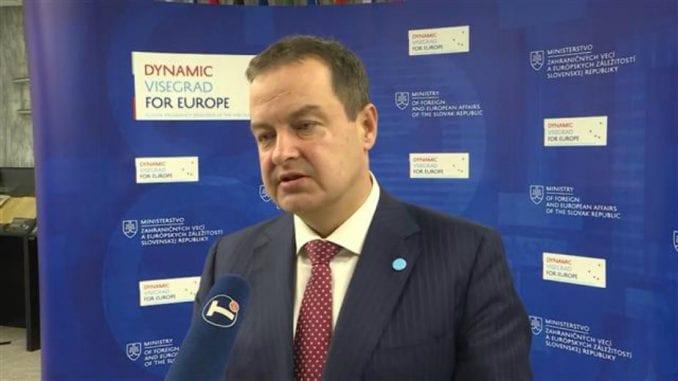Dačić: Nije realno da se samo SAD uključe u dijalog Beograda i Prištine 3
