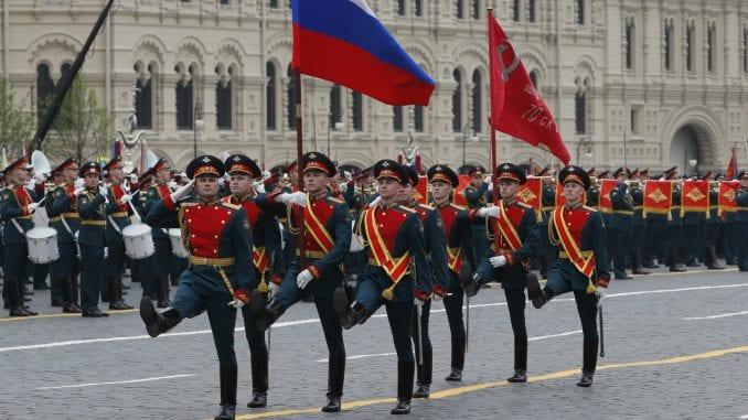 Na paradi u Moskvi pored Vučića neki lideri ZND, Dodik, Kusturica 4