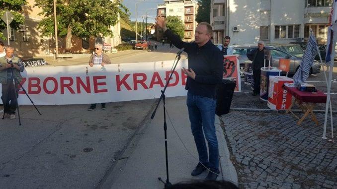 Opoziciona slobodna zona danas postavljena u Knjaževcu 1