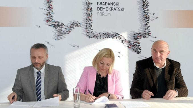 Dogovor o saradnji Stranke moderne Srbije, Građanskog demokratskog foruma i Tolerancije Srbije 1