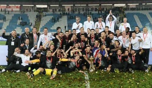 Fudbaleri Partizana osvojili novi trofej Kupa Srbije 10