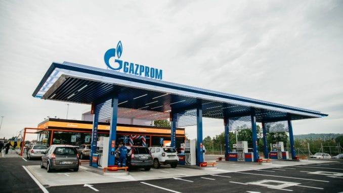 Nova Gazprom benzinska stanica kod Velike Plane 3