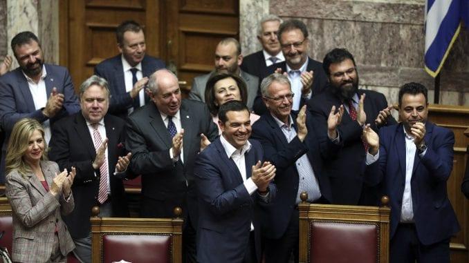Grčka vlada preživela glasanje o poverenju 1
