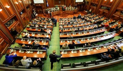 Prekinuta sednica Skupštine Kosova 14