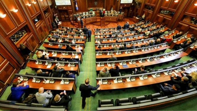 Prekinuta sednica Skupštine Kosova 3