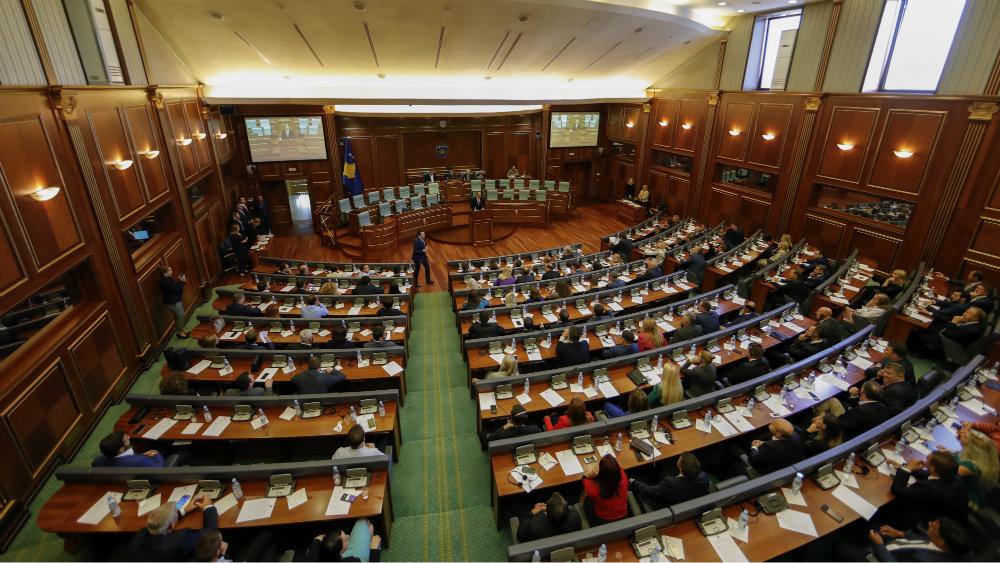 Prekinuta sednica Skupštine Kosova zbog protesta poslanika Samoopredeljenja 1