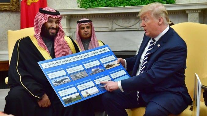 Poklon Bin Salmanu - novi opasan presedan Trampa 1