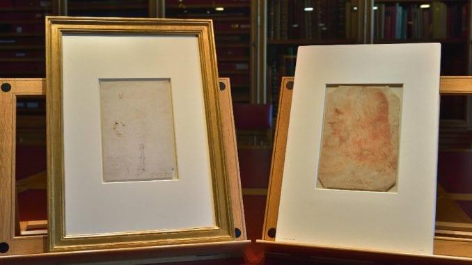 Neobjavljen portret Leonarda da Vinčija predstavljen u Londonu 5