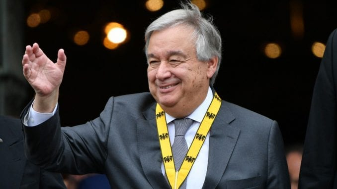 Savet bezbednosti podržao Gutereša za drugi mandat na mestu šefa UN 1