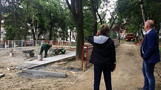 Učiteljsko naselje na leto dobija dva rekonstruisana dečja igrališta 1