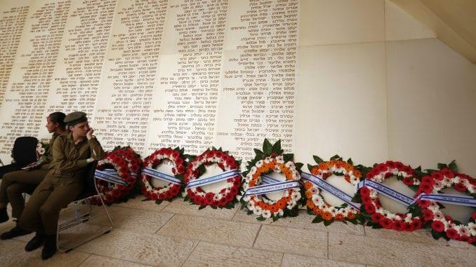 Izrael obeležava Dan sećanja na pale vojnike i žrtve terora 1