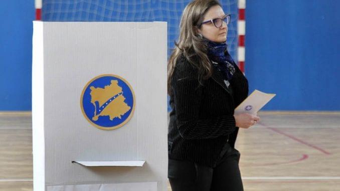 Konačni rezultati: Samoopredeljenje pobednik prevremenih parlamentarnih izbora Kosova 2