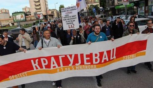 Novi protest Kragujevčana 25. maja 2