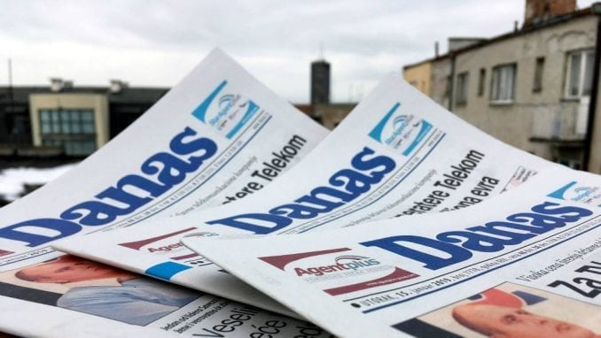List Danas prekršio Kodeks novinara Srbije 6