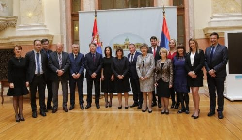 Novoizabrane sudije Ustavnog suda položile zakletvu pred Gojkovićevom 13