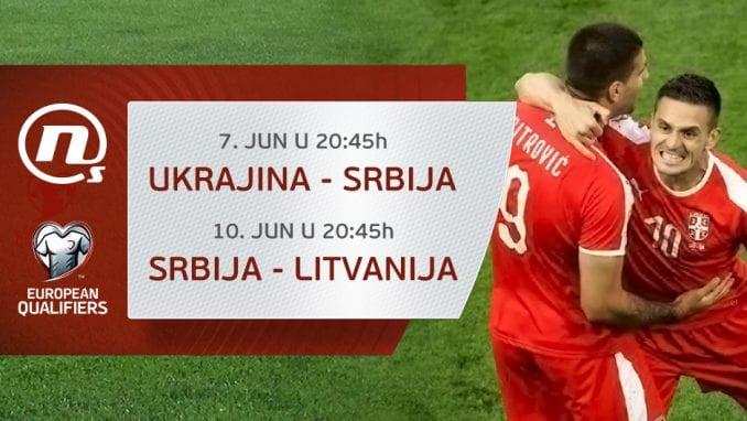 Utakmice Srbije u kvalifikacijama za EP 2020. na Novoj S 1