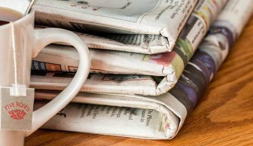 Novinari iz Niša protestovali zbog uskraćivanja informacija o korona virusu 4