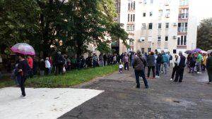 """Novi Sad: Održan protest građana """"Odbranimo parkić"""" 3"""