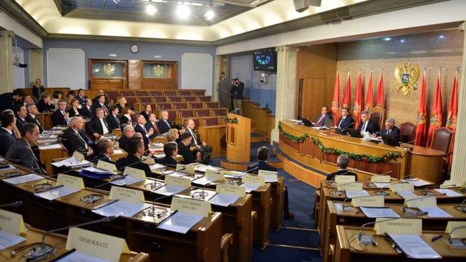 Za danas zakazana konstitutivna sednica Skupštine Crne Gore 3