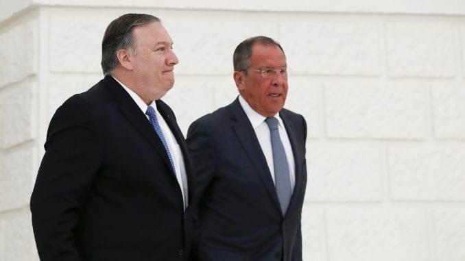 Lavrov rekao da je imao koristan i iskren razgovor sa Pompeom 1