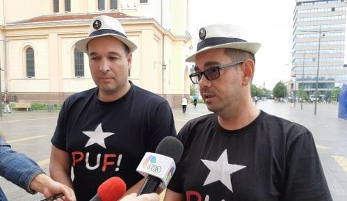 "PUF podržao protest ""Novinari protiv fantoma"" 1"