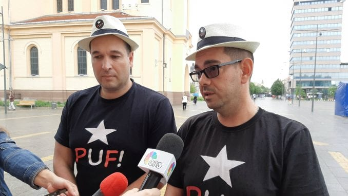 "PUF podržao protest ""Novinari protiv fantoma"" 4"