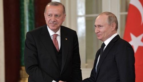 Erdogan pozvao na poštovanje primirja u Idlibu u razgovoru sa Putinom 9