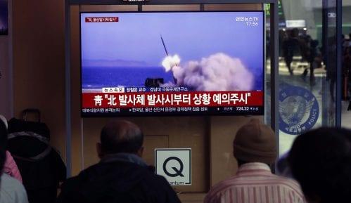 Severna Koreja ispalila neidentifikovane projektile 13