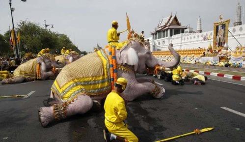 Slonovi klečali u čast novokrunisanog kralja Tajlanda 9