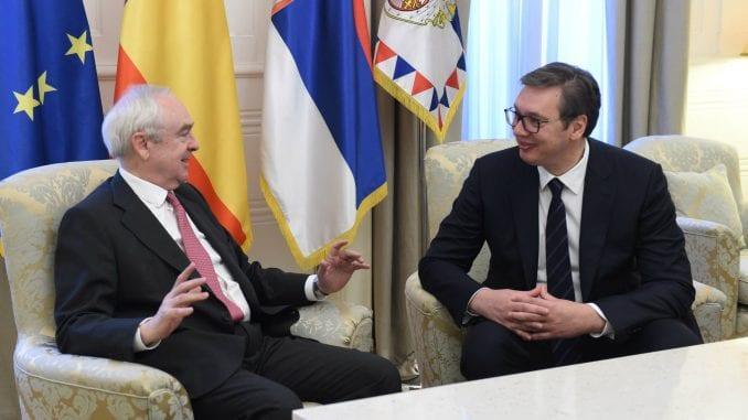 Vučić razgovarao sa španskim ambasadorom 1