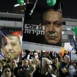 Desetine hiljada ljudi protestovale u Tel Avivu protiv Netanjahua 13