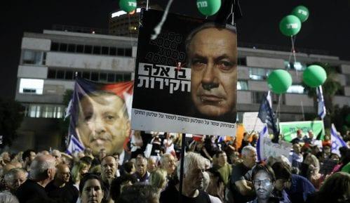 Desetine hiljada ljudi protestovale u Tel Avivu protiv Netanjahua 10
