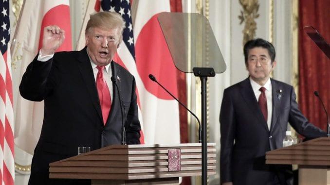 Tramp odlazi iz Japana uz očigledna neslaganja o trgovini i Severnoj Koreji 3