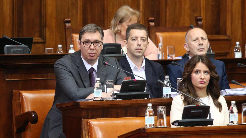 Vučić: Velike sile ocenile da su u Zubinom potoku prekoračene mere 1