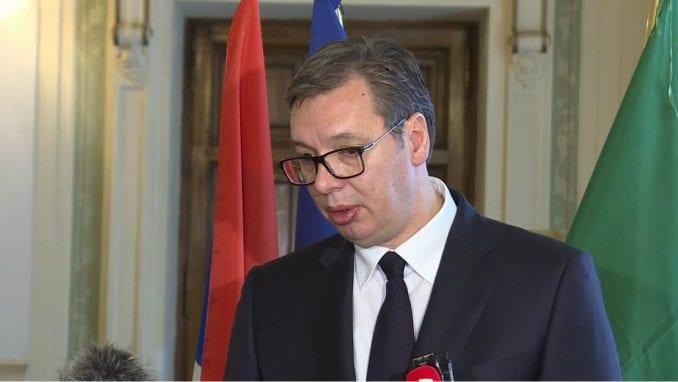Vučić: Zamolio sam da govorim u skupštini 4