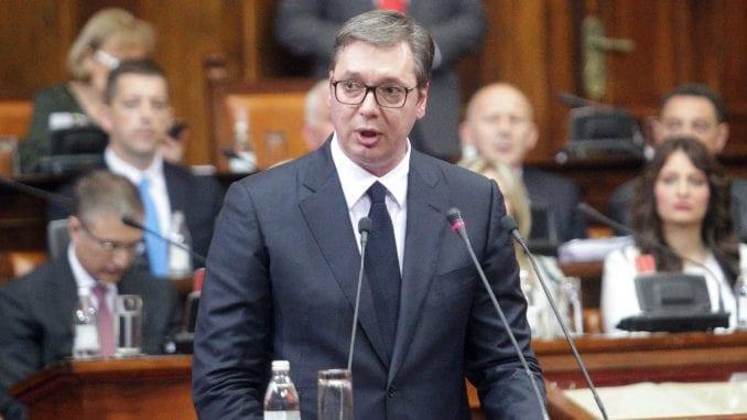 Vučić u Skupštini: Srbija nema vlast na Kosovu, prestati sa obmanjivanjem javnosti 1