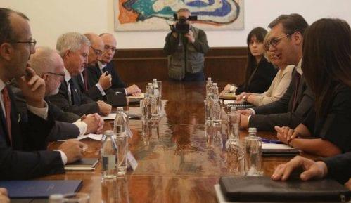 Vučić: Razgovor sa ambasadorima Kvinte otvoren, konstruktivan i sadržajan 13