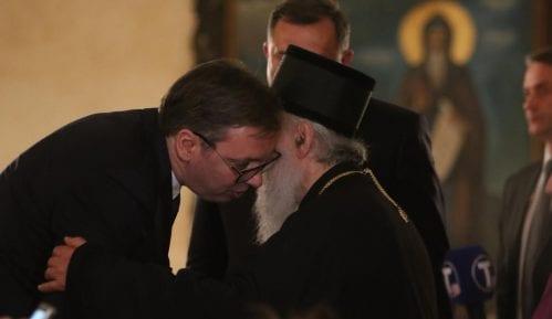 Vučić: Izneo sam pred Sabor sve svoje brige, patrijarh me je razumeo 1