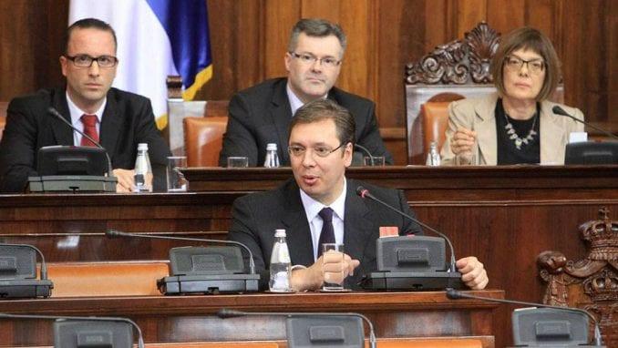 Kako će izgledati sednica parlamenta na kojoj se obraća Vučić? 4