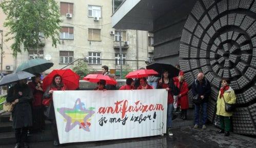 Internacionalom na albanskom u centru Beograda obeležen Dan pobede 12