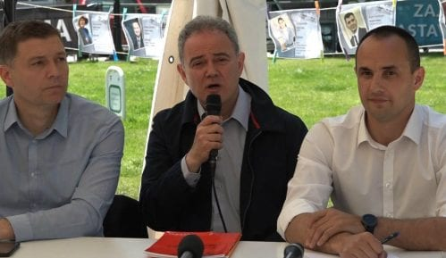 Ujedinjenje Zajedno za Srbiju i Socijaldemokratske stranke u DS 19. maja 9