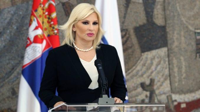 Mihajlović pozvala medije da poštuju pravo na privatnost u slučaju Monike Karimanović 2