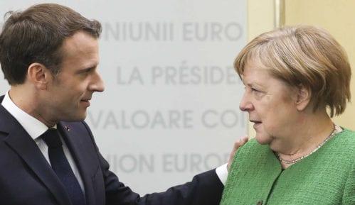 """Merkel i Makron """"na daljinu"""" sa Vučićem i Hotijem 8"""
