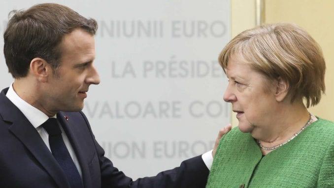"""Merkel i Makron """"na daljinu"""" sa Vučićem i Hotijem 2"""