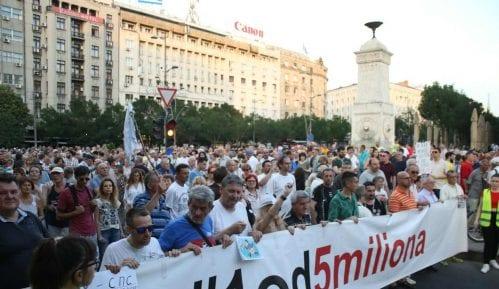 "Novi protest ""1 od 5 miliona"" 12. oktobra 12"
