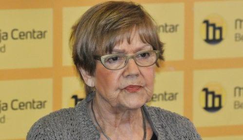 Vesna Pešić bila na ispitivanju u policiji zbog spornog tvita 9