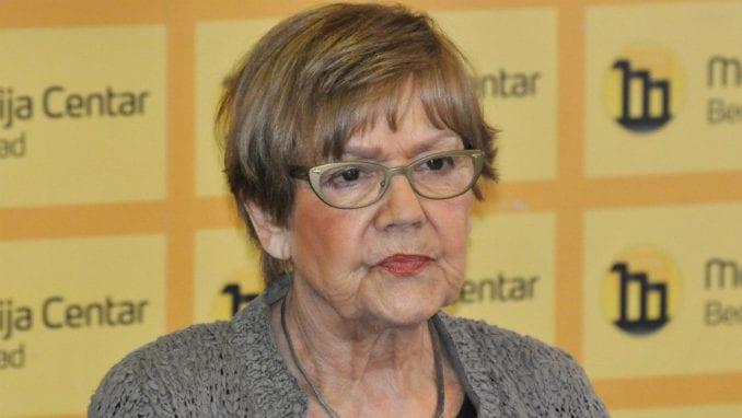 Vesna Pešić bila na ispitivanju u policiji zbog spornog tvita 1