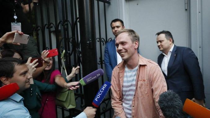 Putin oslobodio novinara iz zatvora 1