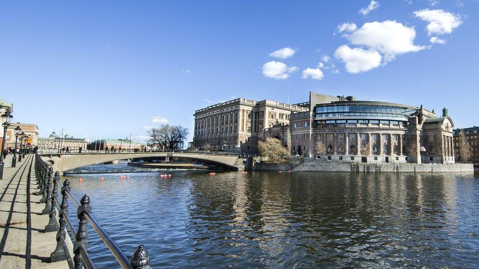 Zgrada parlamenta u Švedskoj
