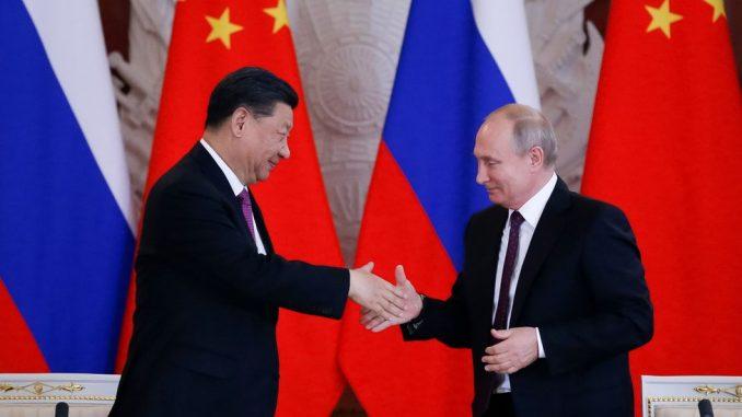 """Predsednik Kine Si Đinping veliča Putina kao """"najboljeg prijatelja"""" tokom posete Rusiji 4"""